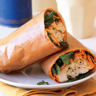 Turkey Salad Wrap