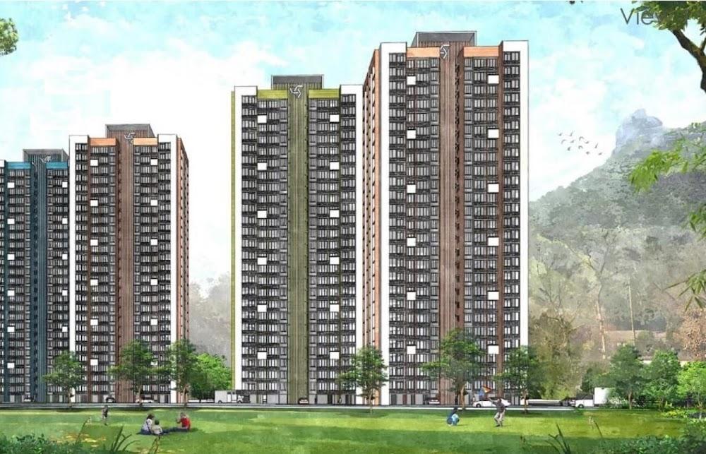 Wadhwa Wise City Apartment