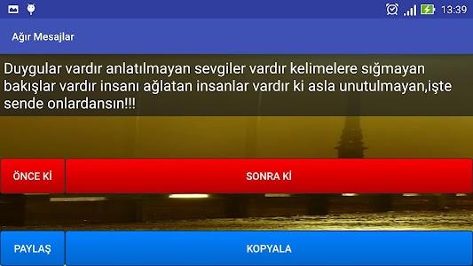 Ağır Mesajlar screenshot 7