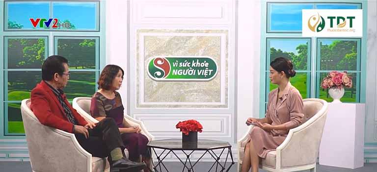 Bác sĩ Tuyết Lan và NS Trần Nhượng trên VTV2 Vì sức khỏe người Việt