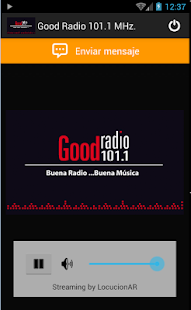 Good Radio 101.1 MHz.- screenshot thumbnail