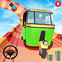 Tuk Tuk Rickshaw - Mega Ramp GT Racing Stunts Free icon