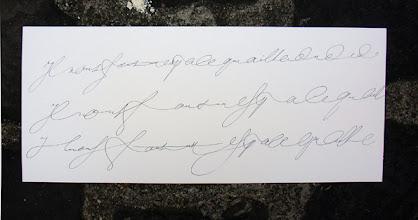 Photo: 18-Laurent Rébéna, divers rythmes de l'écriture coulée