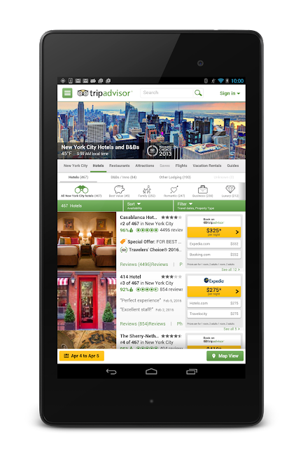 #18. TripAdvisor Hotels Restaurants (Android)