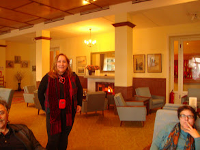 Photo: A coffee at the Forest Park Hotel in Pano Platres