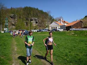 Photo: Důležitá křižovatka u Grobiána.