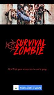 Survival Zombie App - náhled