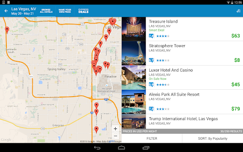 Priceline Hotels, Flight & Car- screenshot thumbnail