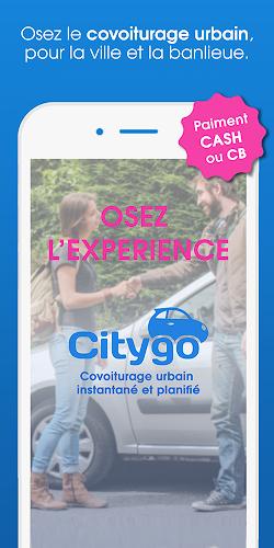 Citygo, covoiturage urbain au quotidien Android App Screenshot