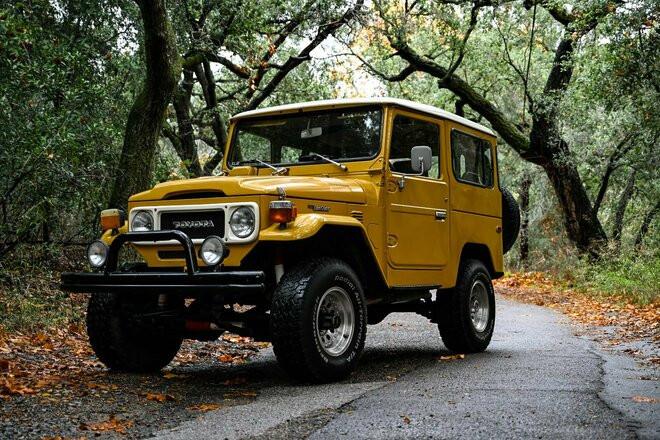 1979 Toyota Landcruiser - an Original Experience! Hire CA 92688