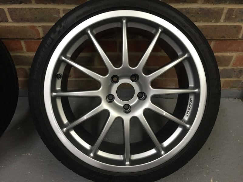 Sold Team Dynamics Pro Race 1 3 19x8 5 Quot Alloy Wheels 5x112 66 6 Audi Sport Net