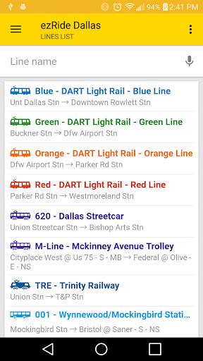 ezRide Dallas (DART Transit)  screenshots 3