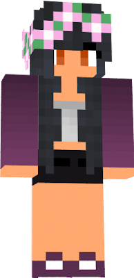 I Like Aphmau so I Made this skin with no base hope you like can we get at least 9 likes plz :D