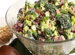 Grape, Broccoli, Bacon Salad Recipe