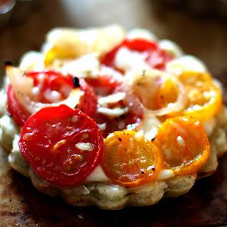 Tomato Tart with Three Herb Garlic Crust