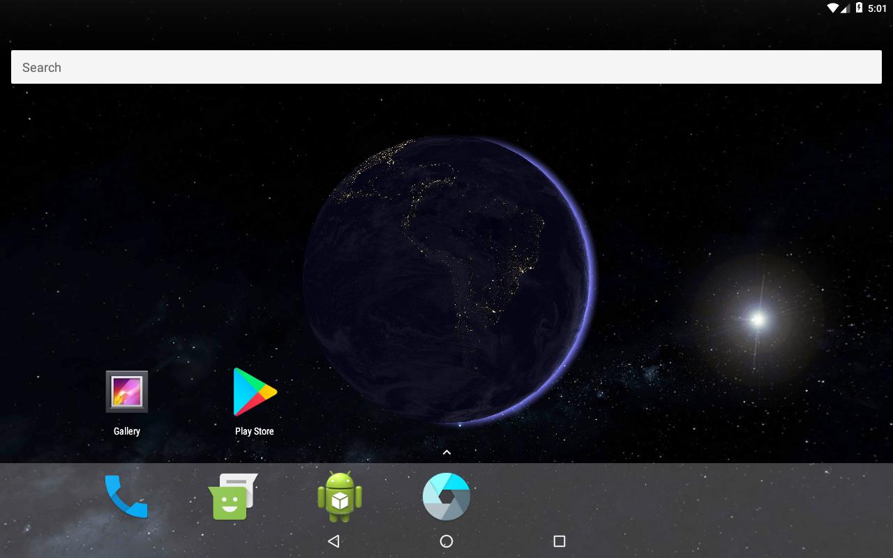 Earth 3D Live Wallpaper 3.2 Apk ...