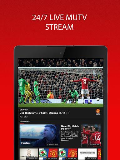 MUTV - Manchester United TV 2.4.0 screenshots 9