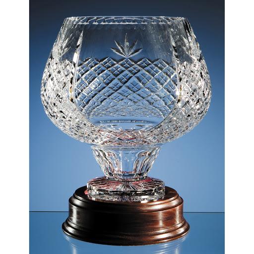 25cm Lead Crystal Presentation Bowl