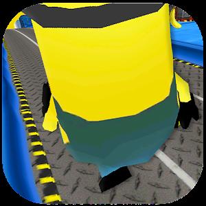 3D Run Robot Yellow Run for PC and MAC