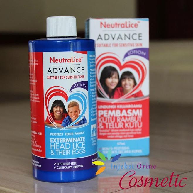 Obat Pembasmi Kutu Rambut dan Telurnya NeutraLice ADVANCE Lotion