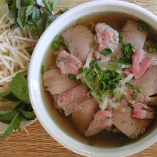 Beef Pho Noodle Soup Recipe (Pho Bo)