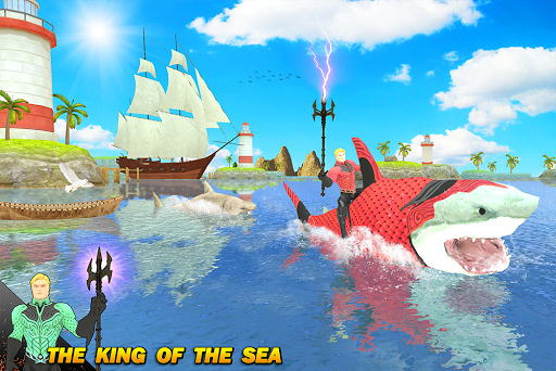 Multi Aqua Shark Hero Vs Sea Animals 1.2 screenshots 9