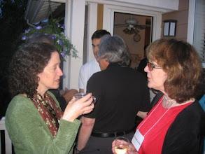 Photo: Professors Linda Levina and Elizabeth Loftus