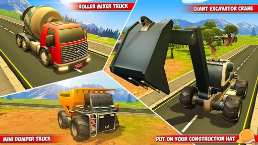 Heavy Excavator Crane City Construction Simulator 3.2 screenshots 12