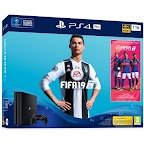 PlayStation 4 PRO 1TB Black + FIFA 19