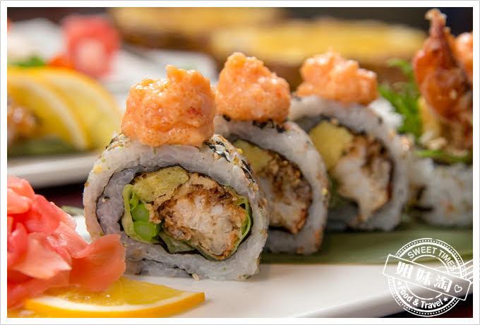 番太郎日式居酒屋軟殼蟹龍蝦卷壽司
