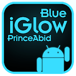 iGlow Blue Icon Pack Icon