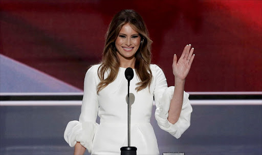 Melania Trump. Picture: REUTERS/MIKE SEGAR