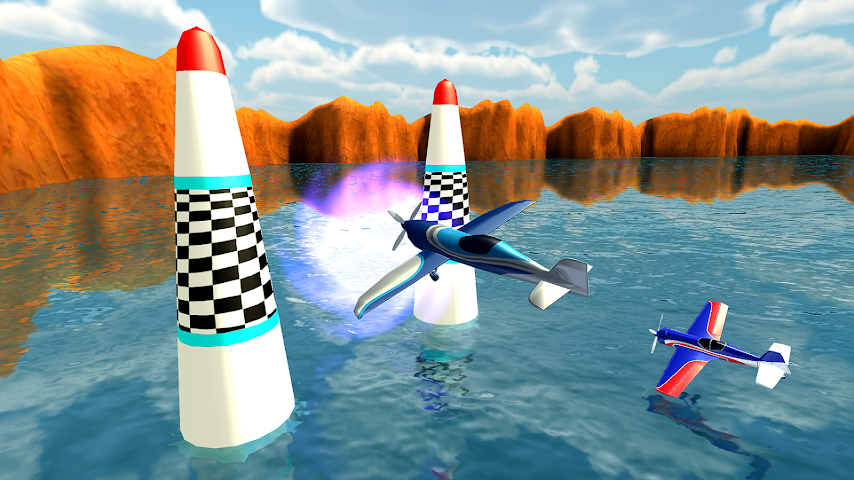 android Air Plane Race Multiplayer Screenshot 1