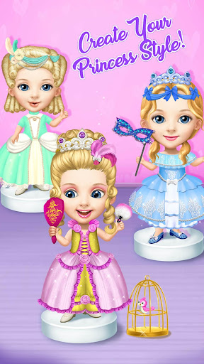 Pretty Little Princess - Dress Up, Hair & Makeup apkpoly screenshots 3