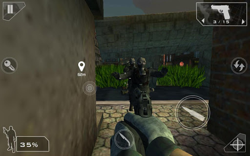 Green Force: Zombies HD  screenshots 8