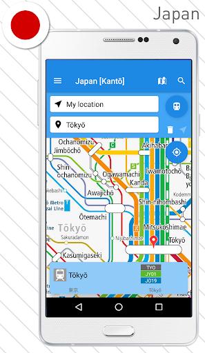 Rail Map - Japan, UK & Worldwide Railway / Subway 4.6.0 PC u7528 2