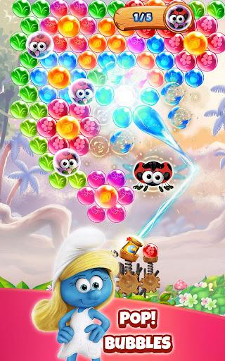 Smurfs Bubble Shooter Story apkdebit screenshots 11