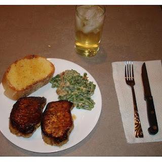 Breaded Pork Chops.