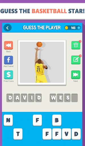 Guess the Basketball Player screenshot