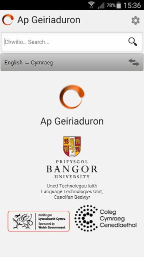 Ap Geiriaduron Cymraeg Welsh