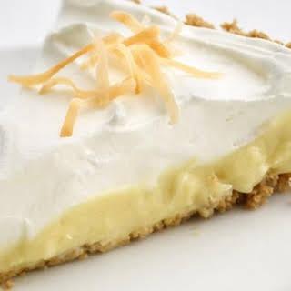 Cheerios® Healthified Coconut Cream Pie.