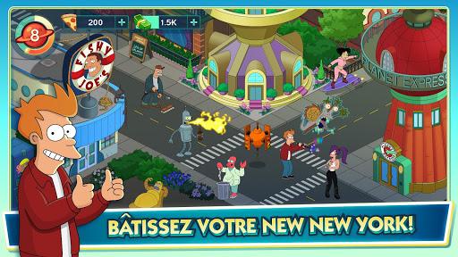 Futurama: Worlds Of Tomorrow fond d'écran 2