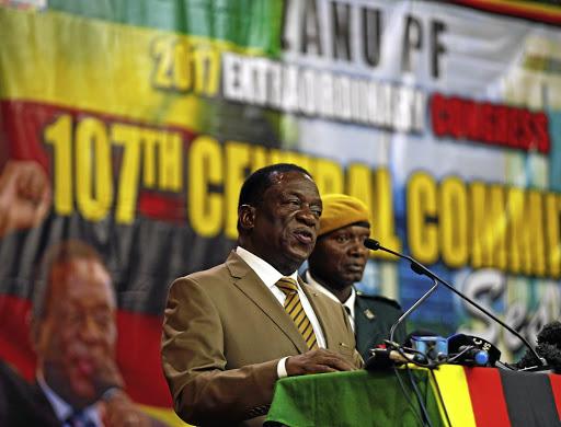 Zimbabwean President Emmerson Mnangagwa Picture Reuters