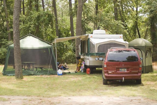 camping, caravan