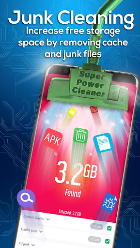 Super Power Cleaner - Cache Cleaner & App Lock 2.0 screenshots 1