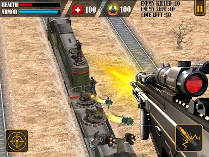 Train Attack 3D- screenshot thumbnail