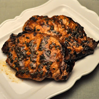Grilled Citrus Pork Chops.