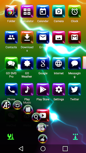 Colorful 3D for Next Launcher image | 2