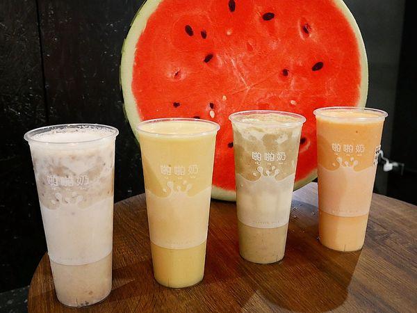 ClassicMilk-CM啪啪奶 - 台北士林夜市飲料推薦,新鮮果汁就像阿母在家打得一樣濃郁,水果風味一覽無遺還吃得到果肉