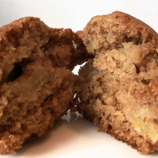 Awesome Applesauce Apple Muffins.